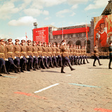 May Dat Parade Moscow, 1967 Photographic Print by Kent Gavin