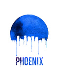 Phoenix Skyline Blue Print