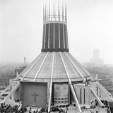 Liverpool Cathedral Photographic Print by  Staff