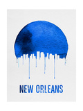 New Orleans Skyline Blue Prints