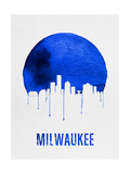 Milwaukee Skyline Blue Prints