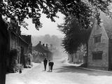 Cotswolds 1935 Fotodruck von Bernard Alfieri