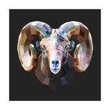 Ram Premium Giclee Print by Lora Kroll