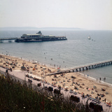 The Pier at Bournemouth 1971 Photographic Print by  Library