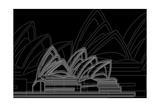 Sydney Night Prints by Cristian Mielu