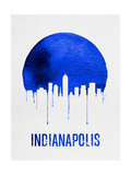 Indianapolis Skyline Blue Prints