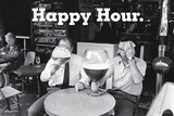 Happy Hour, Grab a Beer Poster