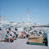 The Sea Front at Brighton 1st June 1968 Photographic Print by  Library