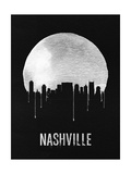 Nashville Skyline Black Prints