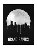 Grand Rapids Skyline Black Prints