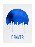 Denver Skyline Blue Prints
