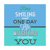 Keep Smiling 1 Prints by Lorand Okos