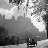 Edinburgh Castle 1910 Fotodruck von  Staff