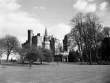 A View of Cardiff Castle, Wales, Circa 1940 Photographic Print by  Staff