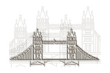 London Bridge Prints by Cristian Mielu