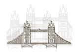 London Bridge Prints by Cristian Mielu