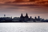 Skyline of Liverpool, 1979 Photographic Print by  Staff