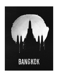 Bangkok Landmark Black Prints