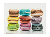 Nine Macaroons Posters by Jennifer Redstreake Geary