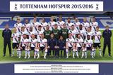 Tottenham- Team 15/16 Plakat