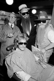 Zz Top at Barbers, Birmingham, 1985 Photographic Print by  Burkes