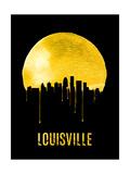 Louisville Skyline Yellow Print