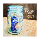 The Doctor Steps Out 2 Prints by Jennifer Redstreake Geary