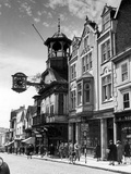 Guildford High Street, Surrey, Circa 1950 Photographic Print by  Staff
