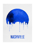 Nashville Skyline Blue Art