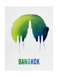 Bangkok Landmark Blue Prints
