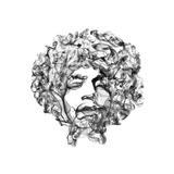 Jimi Hendrix Plakater af Octavian Mielu