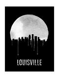 Louisville Skyline Black Prints
