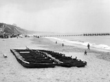 Bournemouth Beach, 1964 Photographic Print by Daily Mirror