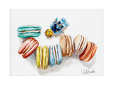 Macaroon Haven Posters by Jennifer Redstreake Geary