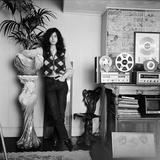 Jimmy Page of Led Zepplin, 1970 Fotografisk tryk af Bruin. Carl