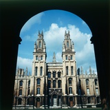 View of All Souls College in Oxford, 1973 Photographic Print by  Staff