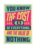 Economia Posters por  Vintage Vector Studio