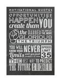 Opportunity Set Black Poster autor Vintage Vector Studio