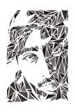 2 Pac Kunstdrucke von Cristian Mielu