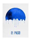 El Paso Skyline Blue Art