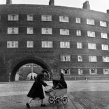 Young Mother in Liverpool, 1954 Photographic Print by Bela Zola