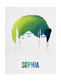 Sophia Landmark Red Posters