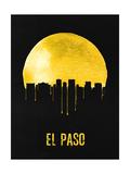 El Paso Skyline Yellow Posters