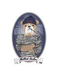 Bulldog Sailor with Tattoo Posters by Olga Angellos