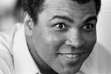 Michael Brennan - Muhammad Ali Former Heavyweight Champion in the Bahamas Fotografická reprodukce