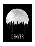 Denver Skyline Black Art