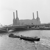 Battersea Power Station, 1954 Photographic Print by Bela Zola