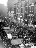 Petticoat Lane Market Christmas Shopping 1960 Photographic Print by George Greenwell