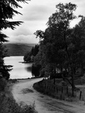 Roadside View of Loch Ard, 1946 Photographic Print by Daily Record