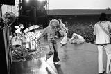 The Who in Concert 1976 Fotografiskt tryck av Mike Maloney
